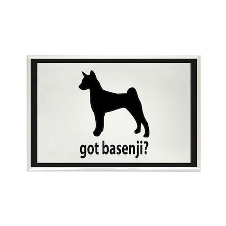 Got Basenji? Rectangle Magnet