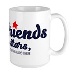 Good friends are like stars Mugs