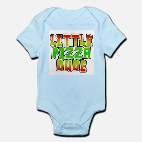 Little Pizza Dude Infant Body Suit