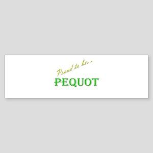 Pequot Bumper Sticker (10 pk)