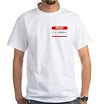 I. P. FREELY White T-Shirt