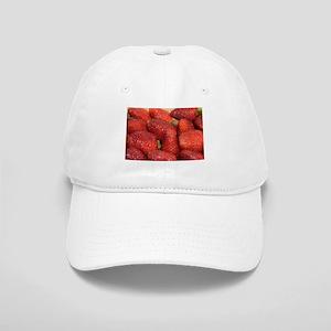 Bright red strawberries Cap