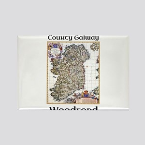 Woodford Co Galway Ireland Magnets