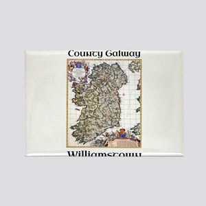 Williamstown Co Galway Ireland Magnets