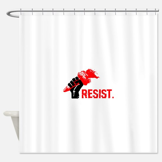 The Fire of Liberty Shower Curtain
