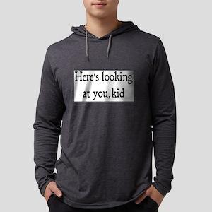 looking at you Mens Hooded Shirt