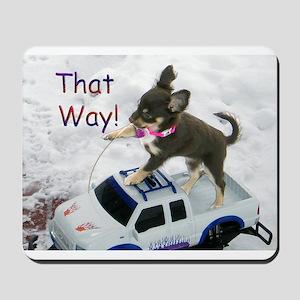 Chihuahua Trucker Mousepad