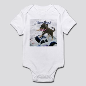 Chihuahua Trucker Infant Bodysuit