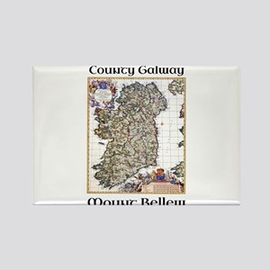 Mount Bellew Co Galway Ireland Magnets
