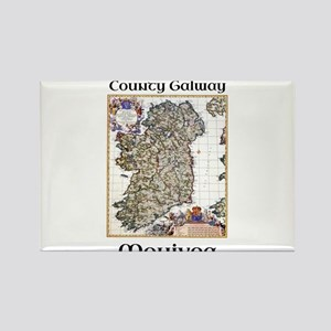 Monivea Co Galway Ireland Magnets