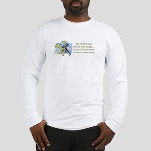 Software Bugs Long Sleeve T-Shirt