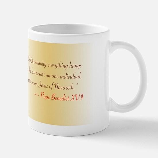 Benedict XVI Jesus quote Mug