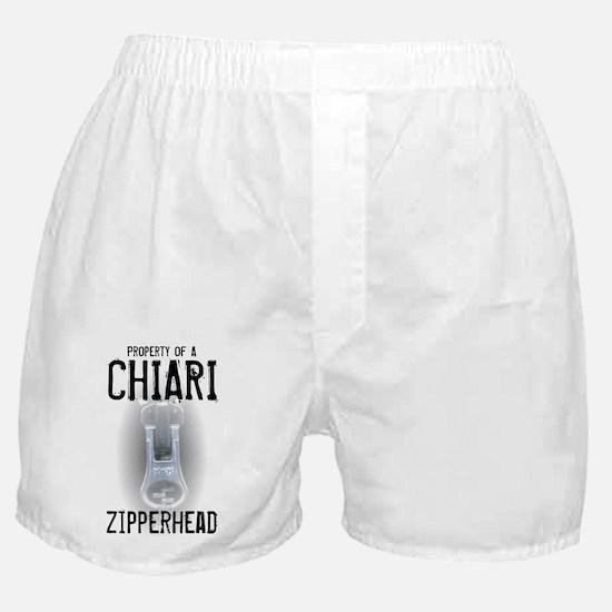 Property of A Chiari Zipperhead Boxer Shorts