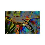 Hidden Bird Rectangle Magnet