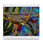 Hidden Bird Tile Coaster