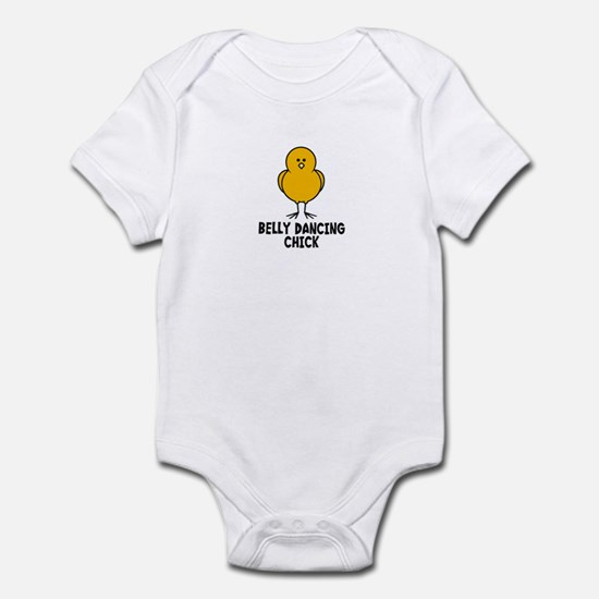 Belly Dancing Chick Infant Bodysuit