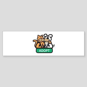 Adopt Bumper Sticker