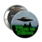 "I Want To Believe 2.25"" Button (100 pack)"