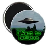 "I Want To Believe 2.25"" Magnet (100 pack)"