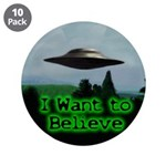 "I Want To Believe 3.5"" Button (10 pack)"