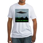 I Want To Believe Fitted T-Shirt