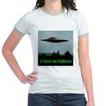 I Want To Believe Jr. Ringer T-Shirt