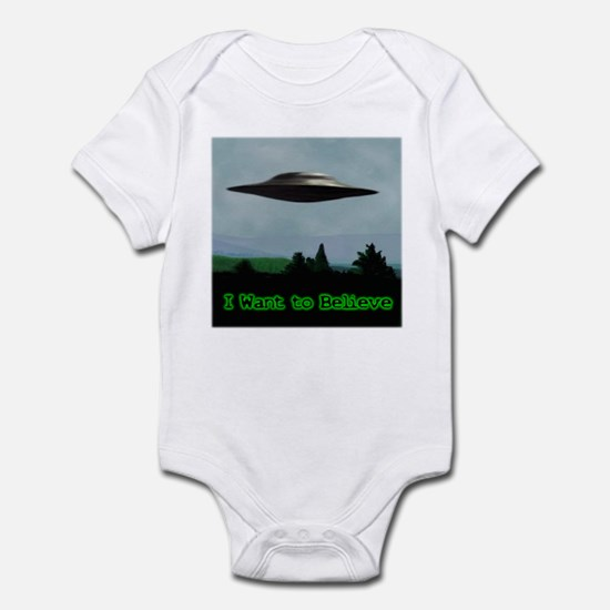 I Want To Believe Infant Bodysuit