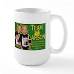 Team Larson Large Mug