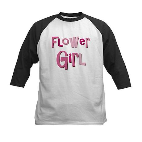 Flower Girl Wedding Party Kids Baseball Jersey