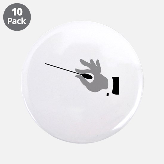 """Conductor gifts 3.5"""" Button (10 pack)"""