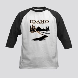 Idaho the Last best place Baseball Jersey