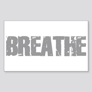 Breathe Rectangle Sticker