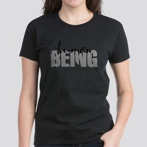 Human Being Women's Dark T-Shirt
