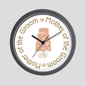 Mother of the Groom Cake Wall Clock