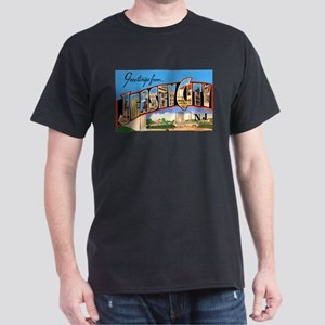 Jersey City New Jersey Greetings Ash Grey T-Shirt