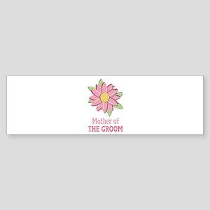 Pink Spring Flower Mother of the Groom Sticker (Bu