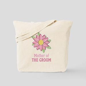 Pink Spring Flower Mother of the Groom Tote Bag