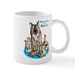 Dogs Out 11 Oz Ceramic Mug Mugs