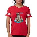 Dogs Out Womens Football Shirt T-Shirt