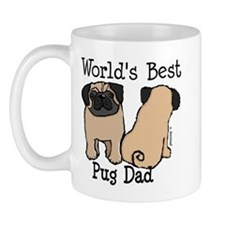 World's Best Pug Dad Mug