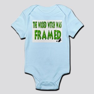 The Wicked Witch Was Framed Infant Creeper