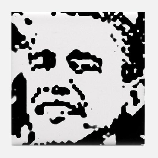 Obama Rocks Tile Coaster