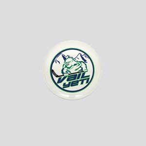 Vail Yeti Mini Button