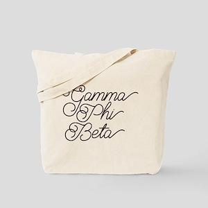 Gamma Phi Beta Curl Tote Bag