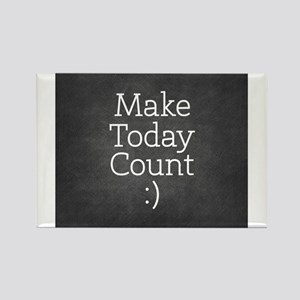 Chalkboard Make Today Count s Magnets