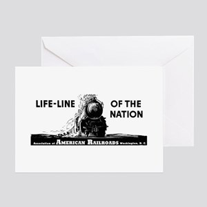 Life-Line Of the Nation 1940 Greeting Cards (Packa