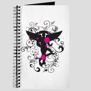 Grunge Chiro Caduceus Journal