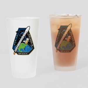 SES-10 Launch Team Drinking Glass