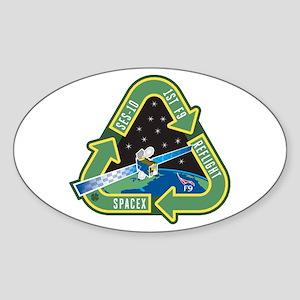 SES-10 Program Logo Sticker (Oval)