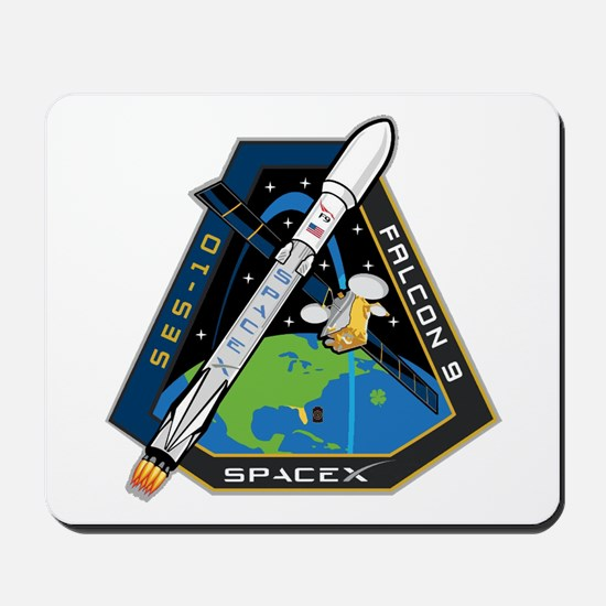 SES-10 Launch Team Mousepad